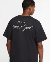 NRG Air Test of God T-shirt Fog Oversize Tee For Men Donne Brand Collaboration Designer T Shirt Casual Jersey Shirt Hip Hop Skateboard