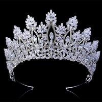 Tiaras and crowns Hadiyana Klassische Neue Modedesign Brauthaarzusätze Jubiläumszeit Frauen BC5070 Corona Princesa MX200720