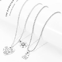 Chokers Rock Flower Bear Heart Pendant Collana Hip Hop Fashion Jewelry Jewelry Cool for Donne Girl Regali Accessori Party Nightclub Gifts1