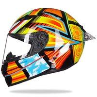 Capacetes de Motocicleta Equitação Capacete Capacete Casco Moto Homens Full Face MotoCross Capacete Motocicicana