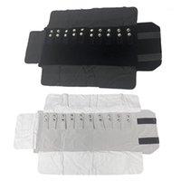 Ювелирные изделия, сумки рулонные сумки портативный перенос бархатного хранения многофункциональный браслет Box1