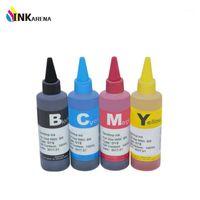Tinta Universal 4 Dye Dye para Hermano 4Color + Tinta 100ml para Brother LC123 LC125 LC223 LC103 LC75 LC39 LC65 ETC Impresora Cartridge1