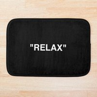 Relaxe esteira de banho anti-deslizamento esteira almofada de pé almofada de água absorvente tapete moderno quarto carpete capacete impresso banho1