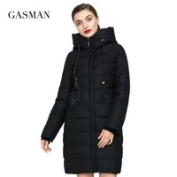 GASMAN Women Down Jacket Hooded New Thick Bio Brand Coat Women Long Winter Warm Parka Fashion Female Jacket Collection 1827 201026