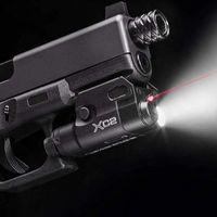 빨간색 도트 레이저가있는 XC2 레이저 라이트 컴팩트 권총 손전등