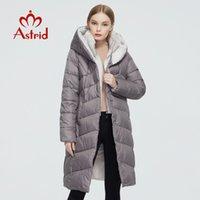Astrid New Winter Damen Mantel Frauen langen warme Parka Mode Jacke mit Kaninchenfell mit Kapuze Bio-Down-weibliche Kleidung 6710 201019