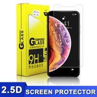 High Quality 2. 5D Tempered Glass US Stock 9H with Package fo...