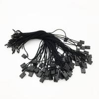 Hang Tag String Changtag String Оптовая продажа 250 шт. Common Black Hang Tag Tag Tear Tag Lock Пластиковая строка для одежды