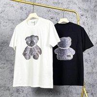 2021 Size T Designer #22695 Hip Mens Men Shirts Fashion Brand Womens Short Sleeve Large Hop Wskah