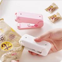 Portable sigillatore di calore Pacchetto sacchetto di plastica bagagli Mini Impulse Sigillatrice magnetico inferiore Handy Sticker Accessori Cucina LJJP619