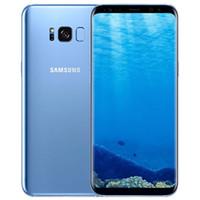 Yenilenmiş Orijinal Samsung Galaxy S8 + S8 Artı G955F G955U 4G 6.2 inç Octa Çekirdek 4 GB RAM 64 GB ROM 12MP 3500 mAh Akıllı Cep Telefonu DHL 1 adet