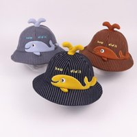 Moda dos desenhos animados Bebê bonito Quente Outono E Inverno Cap Fisherman Bacia Hat M1106