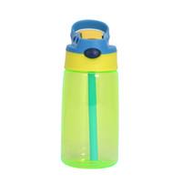 15oz غير الانسكاب معزول sippee toddle بهلوان كأس واضح البلاستيك سيبي كوب أطفال زجاجة المياه مع سترو 12+ أشهر الصبي C02 141 K2