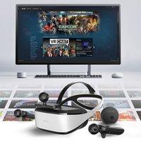 نظارات VR ل 9D VR البيض كرسي سينما deepoon e3c رئيس عرض Wiith nolo cv1 تتبع الحركة كيت الألعاب كومبو 2560x1440p lj200917