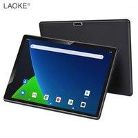 태블릿 PC Laoke Android 9.0 10 인치 옥타 코어 3GB RAM 64GB ROM 1280x800 HD 화면 5.0MP 카메라 4G LTE 5G WIFI GPS1