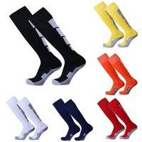 Sport Men Leg Compression Stretch Stockings Comfortable Relief Socks Football Soccer Plain Long Socks Cotton Over Knee High Sock