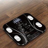 Baño Basas de cocina Escala de peso inteligente Piso electrónico Cuerpo digital Pesaje WEEGSCHAAL 13 Índice 0.2-180kg1