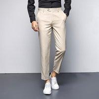 Pantaloni da uomo Casual Fashion Fashion Pantaloni da uomo Pantaloni da uomo Coreano Abbigliamento Abbigliamento Primavera Autunno Suits Classic Oversize Plus Size Pants1