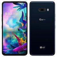 الأصلي تم تجديده LG G8X TUPQ G850um 6.4 بوصة Octa الأساسية 6 جيجابايت RAM 128GB ROM 13MP 4G LTE مقفلة الهاتف الخليوي المحمول الذكية 5 قطع
