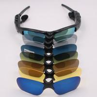 هواتف بلوتوث النظارات الشمسية في الهواء الطلق الذكية نظارات بلوتوث نظارات شمسية سماعة لاسلكية الرياضة مع ميكروفون للالذكية