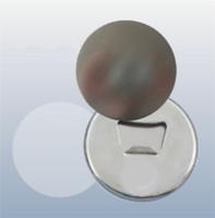 58mm sublimação abridor de garrafas em branco Circular transferência térmica de transferência de papelão magnética distintivo Acessórios de fábrica 0 9DC J2