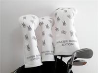 PG Golf Woods Abdeckung Set Master-Häschen Golf Headcover für Driver Fairway-Kopf-Abdeckung 3Colors