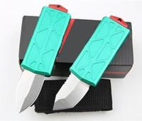 Mini Bounty Hunter Exocet Dual Action 5Cr15Mov Blade Stonewashed Blade Autotf Coltello Pocket Pocket Survival Caccia Camping Xmas Gift Coltelli per uomo Cik