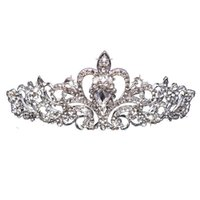 Rhinestone Broadcown Düğün Aksesuarları Gelin Başkanı Hoop Otomobil Gösterisi Sahne Prenses Phoenix Coronet Şapkalar Sıcak Satış 7 5JHA L1