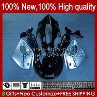 Corpo per Yamaha Thunderiace YZF1000R YZF-1000R 96 97 98 99 00 01 96HC.1 Silvery Black YZF 1000R 02 03 04 05 06 07 1996 1997 2007 Fairing