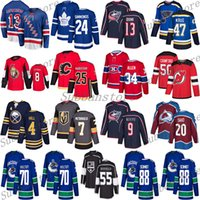 New York Rangers 13 Alexis Lafreniere Toronto Maple Leafs 24 Simmonds Canucks 88 Schmidt St.Louis Blues 47 Krug Hokey Jersey