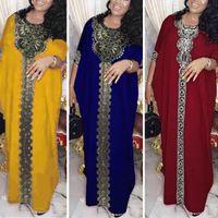 Turchia Abito musulmano Abito musulmano Donne marocchine Kaftan Bangladesh Abiti da sera Pakistan Plus Size Abbigliamento islamico Hijab Vestidos