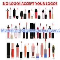 ¡No hay logotipo! 60 colores de 60 colores brillo de labios impermeable longitud duradera lápiz labial mate aceptan tu logotipo!