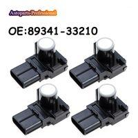 Caméras Capteurs de stationnement 4 PCS / Lot noir / argent / blanc Accessoires 89341-33210 8934133210 pour 2012-2021 Camry Land Cruiser PDC