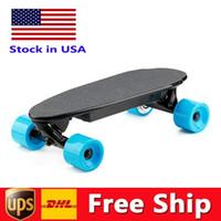 США Местный Склад Портативный мини электрический скейтборд Оснащено Best Motor Kit для подростков и взрослых Макс 15 км / ч W34815706