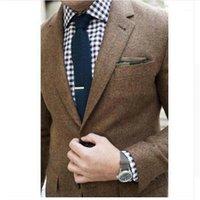 Trajes para hombres Blazers Marca: Auguswu Género: Hombres Tipo de artículo: Juego de chaquetas Cierre de una sola longitud de manga de pecho (cm): Material completo: Lana