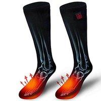 Sports Socken Wiederaufladbare Batteriewärmer elektrisch beheizbar einstellbar für Frauen Männer Winter Outdoor Skifahren Radfahren Sport Halten Sie warm
