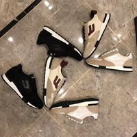 السنة 2021 حذاء جديد مصمم أزياء الرجل متقدمة الترفيه اليدوي حذاء الحرة الشحن size38 ~ 45 الأزرق والأحمر مع الاطار الأصلي