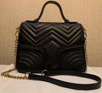 Mode d'amour coeur V vague motif sauteur sac à bandoulière chaîne sacs à main Browbody sac à main dame cuir style classique style sac fourre-tout avec