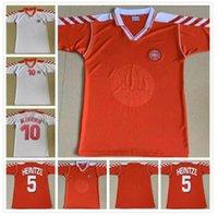 Retro Danimarka Futbol Formaları 92 1998 Danimarka Aile Heintze B.laudrup M.laudrup 92 98 Futbol Gömlek