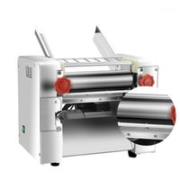 Nudelpresse Maschine Automatische kommerzielle Edelstahl Electric Pasta Maker Maschine Teigschneider Klotze Haut 220V1