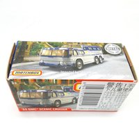 2019 Matchbox Cars 1:64 Car 55 GMC SCENIC CRUISER Metal Diecast Alloy Model Car Toy Vehicles LJ200930