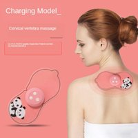 Masajeador de la vértebra cervical Massager Multifuncional Hombro y cuello Massager Pulse Mini Massage Instrument Regalo