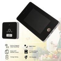 Video-Door-Telefone Wireless-Peephol-Türklingel-Digital-Viewer-Sicherheitsfarbe LCD-Bildschirm-Kamera-Monitor-App-Steuerung