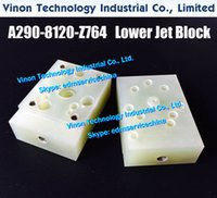 A290-8120-Z764 EDM Lower Jet Block for Fanuc ID، IE، CIA، C400IA، سلسلة C600IA. Fanuc EDM ارتداء أجزاء A290.8120.Z764، A2908120Z764 لوحة المعزل