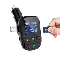 MP4 jogadores Yibeika Aux Bluetooth FM Transmissor Handsfree for Car Kit MP3 player de áudio com rápida carga1