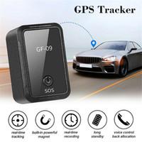 جديد GF-09 مصغرة GPS المقتفي التطبيق التحكم المضاد للسرقة جهاز محدد صوت المغناطيسي تسجيل للسيارة / سيارة / شخص الموقع