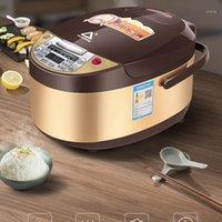 Fogões de arroz 5l fogão doméstico Máquina de cozinha elétrica multi sopa mingau bolo de vapor grande potenciômetro de tela 20211