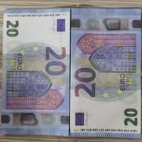 Prop Paper Copy Money Toy Game Euros 08 o Family Kids Play BankNote de EE. UU. Para la colección 20 100pcs / Pack TWDQI