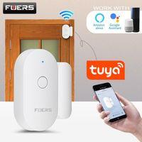Smart Home Sensor Fuers Tuya Wifi Tür Öffnen / geschlossener Detektoren Magnetschalter Fenster Sicherheitsalarmalarm