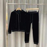20fw Erkek Kadın Eşofman Moda Hoodie + Joggers Mektup Baskılı Ile Takım Elbise Ile Unisex Eşofman Setleri Yansıtıcı Şerit M-3XL